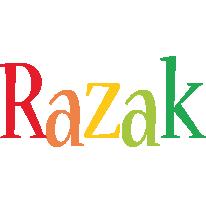 Razak birthday logo