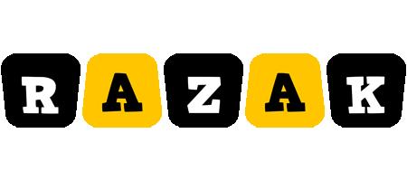 Razak boots logo