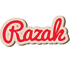 Razak chocolate logo
