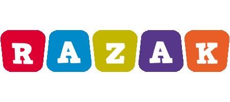 Razak daycare logo
