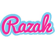 Razak popstar logo