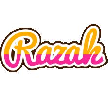 Razak smoothie logo