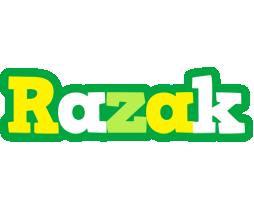 Razak soccer logo