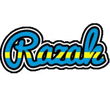 Razak sweden logo