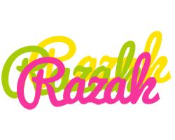 Razak sweets logo