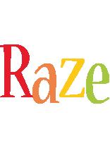 Raze birthday logo