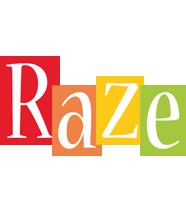 Raze colors logo