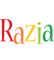 Razia birthday logo