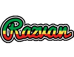 Razvan african logo