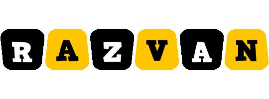 Razvan boots logo