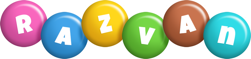 Razvan candy logo