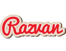 Razvan chocolate logo