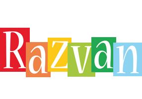 Razvan colors logo