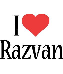 Razvan i-love logo