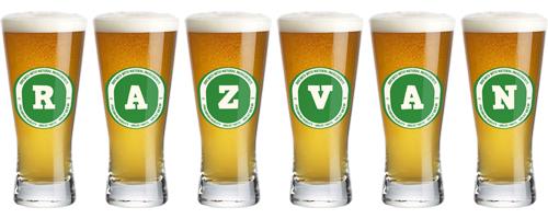 Razvan lager logo