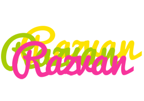 Razvan sweets logo