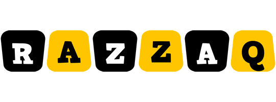 Razzaq boots logo