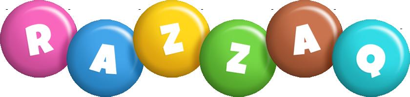 Razzaq candy logo