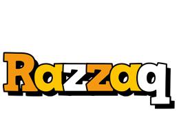 Razzaq cartoon logo