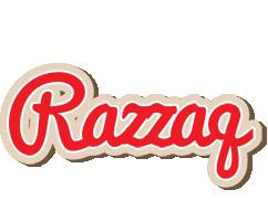Razzaq chocolate logo