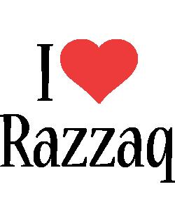 Razzaq i-love logo