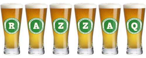 Razzaq lager logo