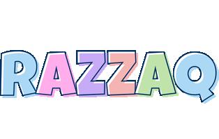 Razzaq pastel logo