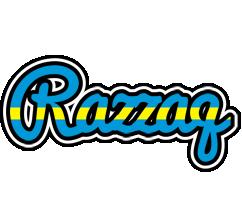 Razzaq sweden logo