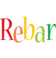 Rebar birthday logo