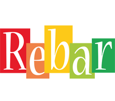 Rebar colors logo