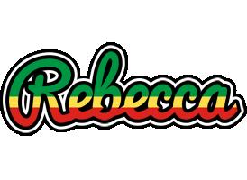 Rebecca african logo
