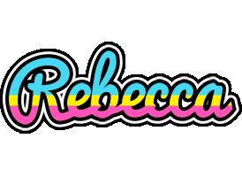 Rebecca circus logo