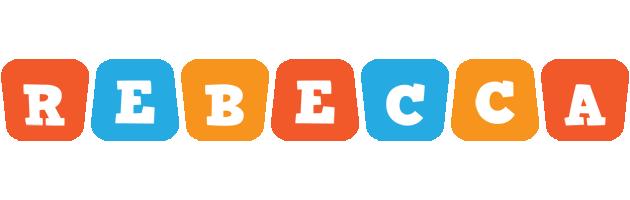 Rebecca comics logo