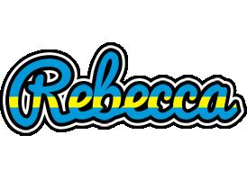 Rebecca sweden logo