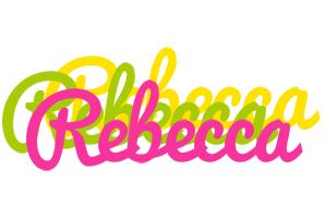 Rebecca sweets logo