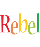 Rebel birthday logo