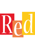 Red colors logo