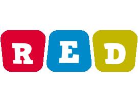 Red daycare logo