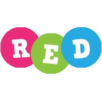 Red friends logo