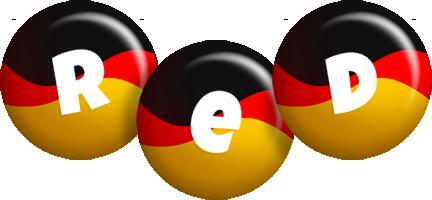 Red german logo