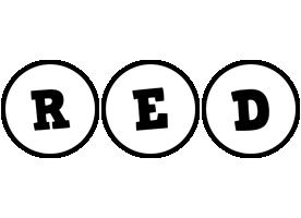 Red handy logo