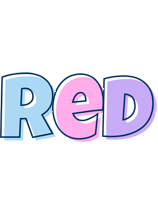 Red pastel logo