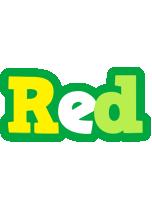 Red soccer logo