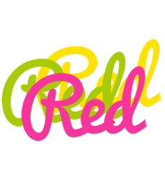 Red sweets logo