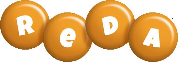 Reda candy-orange logo