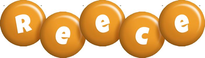 Reece candy-orange logo