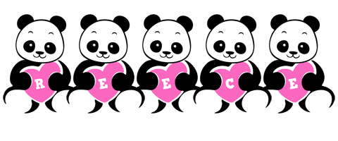 Reece love-panda logo