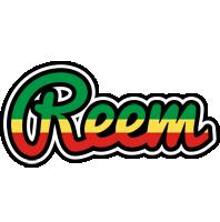 Reem african logo