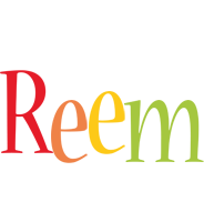 Reem birthday logo
