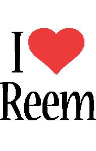 Reem i-love logo